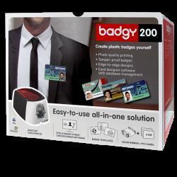Embalage de l'imprimante à cartes Evolis Badgy
