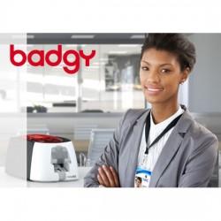 Badge PVC pour contrôle d'accès en entreprise