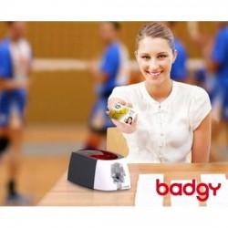 Tarjeta de club deportivo impresa por Evolis Badgy