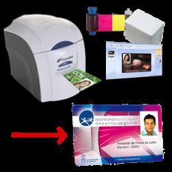 Solución de impresión de tarjetas PVC Magicard Pronto