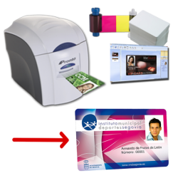 Solution d'impression de cartes PVC Magicard Pronto