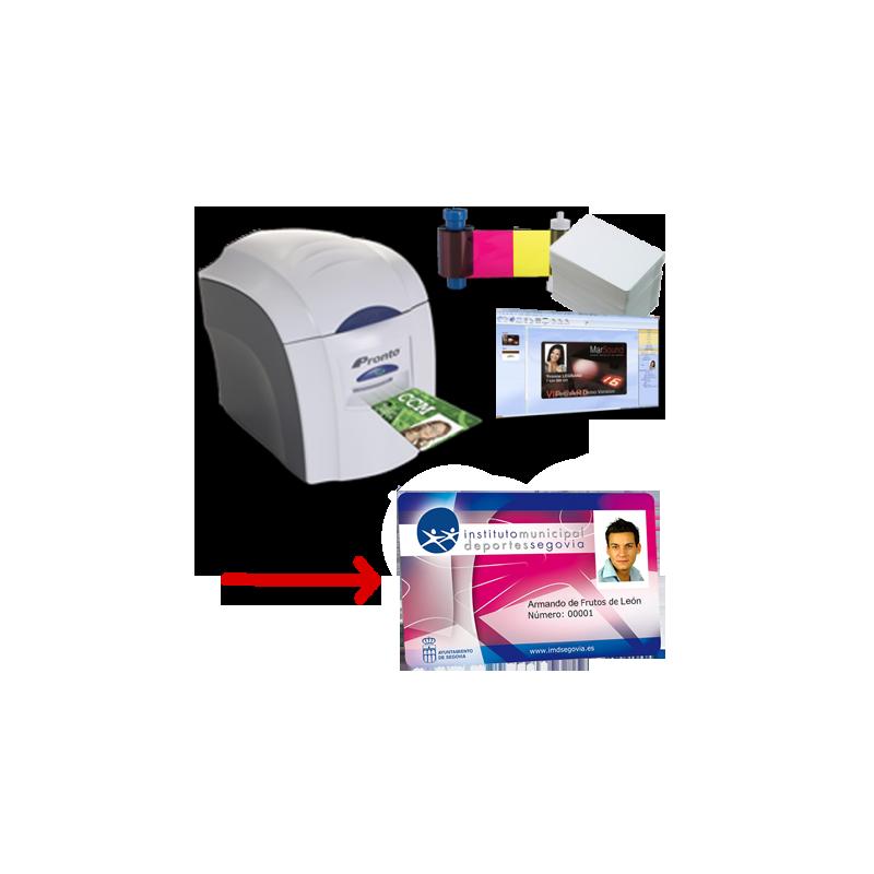Solution d'impression de cartes PVC Magicard Pronto