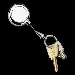 Zip enrouleur porte-clés renforcé