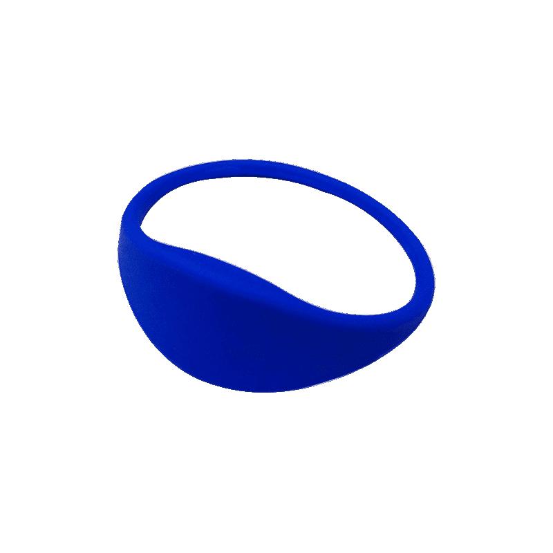 Pulsera RFID 1K silicona azul 67mm
