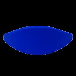 Bracelet silicone bleu 67mm