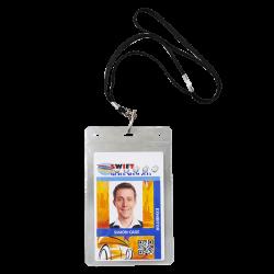 Lanyard avec porte badge