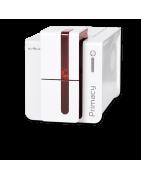 Visualiza la gama de impresoras Evolis para imprimir tarjetas de PVC
