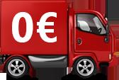 Transporte gratuito a partir de 500€.